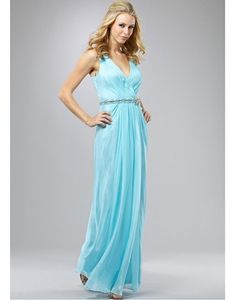 Discount Cheap Fabulous Silk Like Chiffon Sheath V-Neckline Mother of the Bride Dress Online