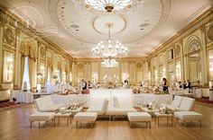 The Pacific Ballroom. The Fairmont Hotel Vancouver.
