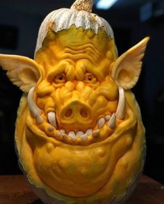 This inspired squash carving by was part of our 2018 Enchanted Pumpkin Garden experience. The carving is still with… Humour Halloween, Scary Halloween, Halloween Pumpkins, Halloween Crafts, Holidays Halloween, Halloween Decorations, Halloween Tips, Halloween Quotes, Happy Halloween
