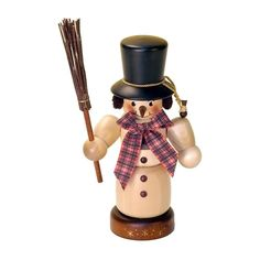 Christian Ulbricht colored Mini Snowman Nutcracker