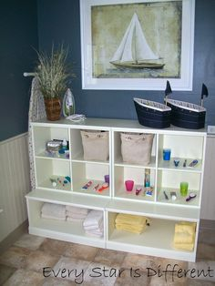Every Star Is Different: Our Montessori Inspired Bathroom