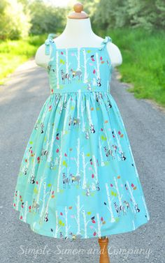 Free Pattern: Vintage Sundress (size 3-8): Simple Simon and Company