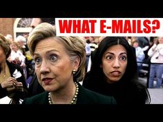 NEW Huma Abedin Emails Expose MORE Clinton Corruption, Cover Ups, Security Threats - YouTube