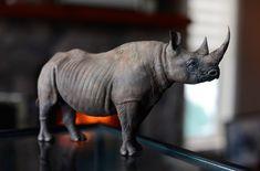 Animal Sculptures, Lion Sculpture, Animal Games, Scale, Studio, Animals, Rhinos, Weighing Scale, Studios