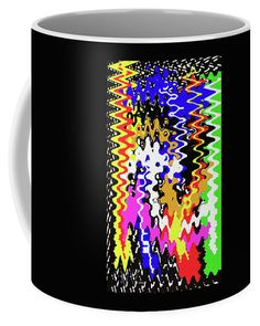 Drawing Abstract #2319draw5 Coffee Mug featuring the photograph Drawing Abstract #2319draw5 by Tom Janca