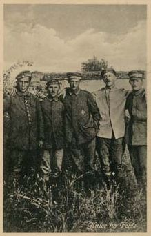 Portrait of Adolf Hitler during WWI