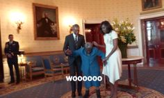 Donations Pour In To Help 106-Year-Old Who Danced With The Obamas At The White House