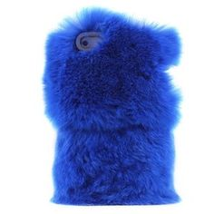 Price:$29.99 - On Sale  Deep Blue Soft Fur Hard Cover Protective Case For Iphone 5