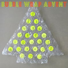 This #DIY #BubbleWrap Advent will leave you stree-free during the holidays!