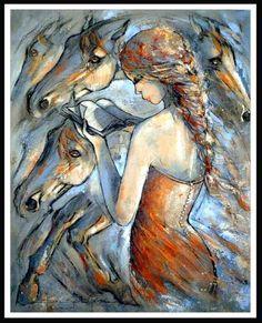 Jeanne Saint Chéron This reminds me of all the horse books I have read.