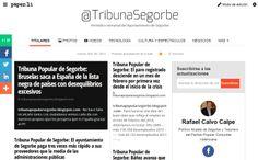 @TribunaSegorbe SUSCRÍBETE !!! Periódico semanal del Ayuntamiento de #Segorbe