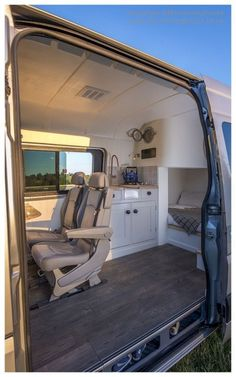 Adorable Wood Interior Ideas For Sprinter Van Camper, Volkswagen campers stick out from the crowd. A Sprinter van camper is readily the most flexible type of Sprinter RV. Our very last RV had one small ba. Sprinter Conversion, Mercedes Sprinter Camper Conversion, Van Conversion Interior, Camper Van Conversion Diy, Camping Car Sprinter, Van Life, Van Mercedes, Kombi Home, Bmw Autos