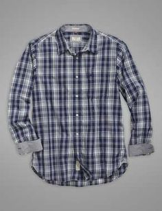 The Laundered Shirt - Medieval Blue Plaid - Dockers Nate Archibald, Get Ready, Blue Plaid, Medieval, Men's Fashion, Button Down Shirt, Men Casual, Mens Tops, Shirts