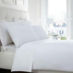 White Egyptian cotton 200 thread count duvet cover
