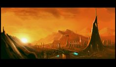 This collection of landscapes, long and wide, are by the deviant artist known as High Dark Templar. The gallery shows fantasy vistas, sombre caverns and sc