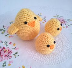 Mother  Bird and baby chicks family plush birds #mothersday