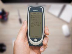 Nokia 3310 Fullscreen / Roman Kryzhanovskyi