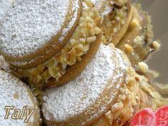 Biscotti morbidi con crema di ricotta e mascarpone