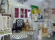 OMG this place is awesome. If you need me, I'll be in Palm Beach | Palm Beach Regency Vintage Furniture