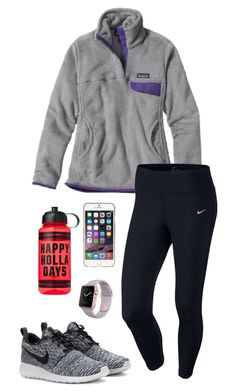 Happy Holla Days! by toonceyb on Polyvore featuring Patagonia, NIKE and Agent 18