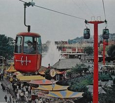 Of Monorails, Rockets & Gyroscropes: 1962 Seattle World's Fair, These scared me so much!!