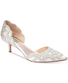 a52d9f4a888 40 Low Heel Silver Wedding Shoes for Your Stunning Style
