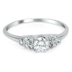 The Calupurnia Ring #BrilliantEarth #Antique #ArtDeco