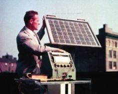 Did you know: The first practical solar cell was created by Bell Laboratories in 1954. It only produced 1 Watt of energy and cost $250 for that 1 Watt.