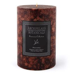 Archipelago Excursion Havana Pillar Candle - 4
