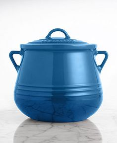 Le Creuset Heritage 4.5 Qt. Stoneware Bean Pot - All Le Creuset - Kitchen - Macy's