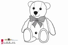 Ausmalbild Teddy Bommel Snoopy, Bear, Fictional Characters, Free Coloring Pages, Christmas Presents, Bears, Fantasy Characters