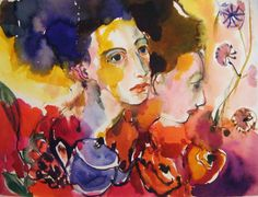 artwork in exhibition at Fabriano,Italy,international watercolor show Figurative Art, Italy, Watercolor, Portrait, Drawings, Artwork, Painting, Pen And Wash, Italia
