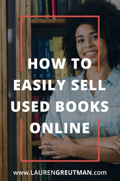 Are you wondering how to easily sell used books online? Here are 5 simple steps to instant cash for those old books and games. Sell Books For Cash, Sell Used Books Online, Sell Old Books, Legit Work From Home, Online Work From Home, Sell Vinyl Records, Apps That Pay You, Sell Your Business, Budgeting Money