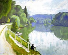 Albert Marquet - The Banks of the River