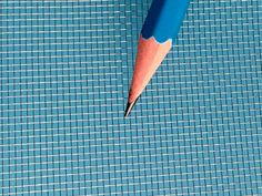 A blue pencil on the stainless steel window screen for contrast. Window Screen Roll, Window Screens, Mesh Screen, Stainless Steel Screen, Stainless Steel Mesh, Security Screen, Fire Prevention, Chemical Industry