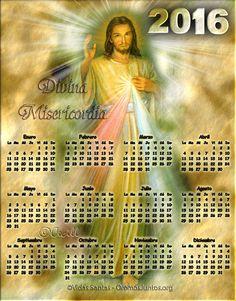 GIFS DE CALENDARIOS: Calendarios de Jesús 2016