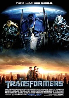 Transformers - this is a great movie. Had to buy the DVD