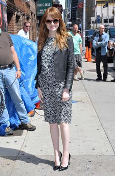 Emma Stone - like this look, prob wouldnt wear the heels though