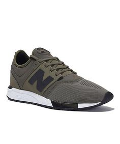 New Balance 247 sport in olive by Todd Snyder