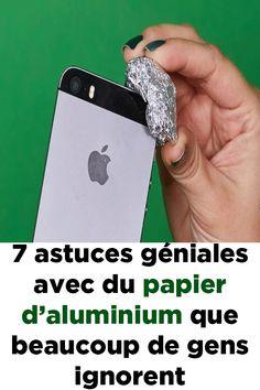 7 astuces géniales avec du papier d'aluminium que beaucoup de gens ignorent ! Ignorant, How To Know, Hacks, How To Plan, Resume Tips, Crochet Clothes, Gadgets, Bedroom Decor, Jokes
