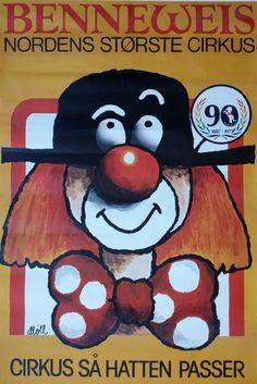 1977 Circus Benneweis 90 Years Anniversary  by OutofCopenhagen