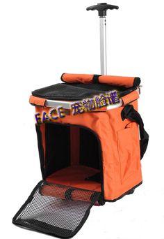 pet dog cat stroller pet carrier bag mesh can fold Cat Stroller, Pet Dogs, Dog Cat, Pig Ideas, Pet Carrier Bag, Cat Harness, Dog Houses, Pet Stuff, Kitty Cats