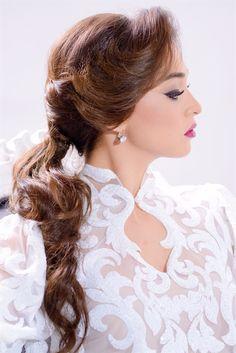 ביוטי סנטר  | Beauty Center 072-330-7740  איפור ושיער לכלות, לסלון כלות Makeup and hair, bride, hair styling, hair design, hair for wedding