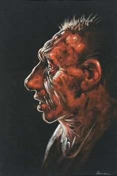 Peter Howson 'Bunhill I', gouache and crayon. Peter Howson, Photography Collage, Expressive Art, A Level Art, Artist At Work, Gouache, Art Sketches, Fine Art, Gallery