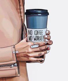 26 Ideas for fashion quotes illustration megan hess Illustration Art Nouveau, Illustration Mode, Illustration Artists, Coffee Girl, I Love Coffee, Coffee Coffee, Coffee Today, Coffee Spoon, Espresso Coffee