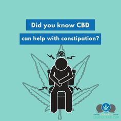 Constipation can be painful and dangerous if not taken care of. CBD relaxes the digestive tract, making stool pass easily. If you want to try CBD, check out our shop today at CBDinstead.com!