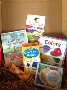 "August 2013 bluum Box - ""World of Colors"""