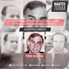 #MartesTrivia RESPUESTA! ¡FELICITACIONES! ¡36% de los votantes la sabían!  #PedroDellacha