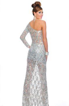 P8870 in Silver #prom2013 #preciousformals #promdresses