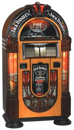 Rock Ola Jack Daniels Nostalgic Music Center Jukebox | eBay